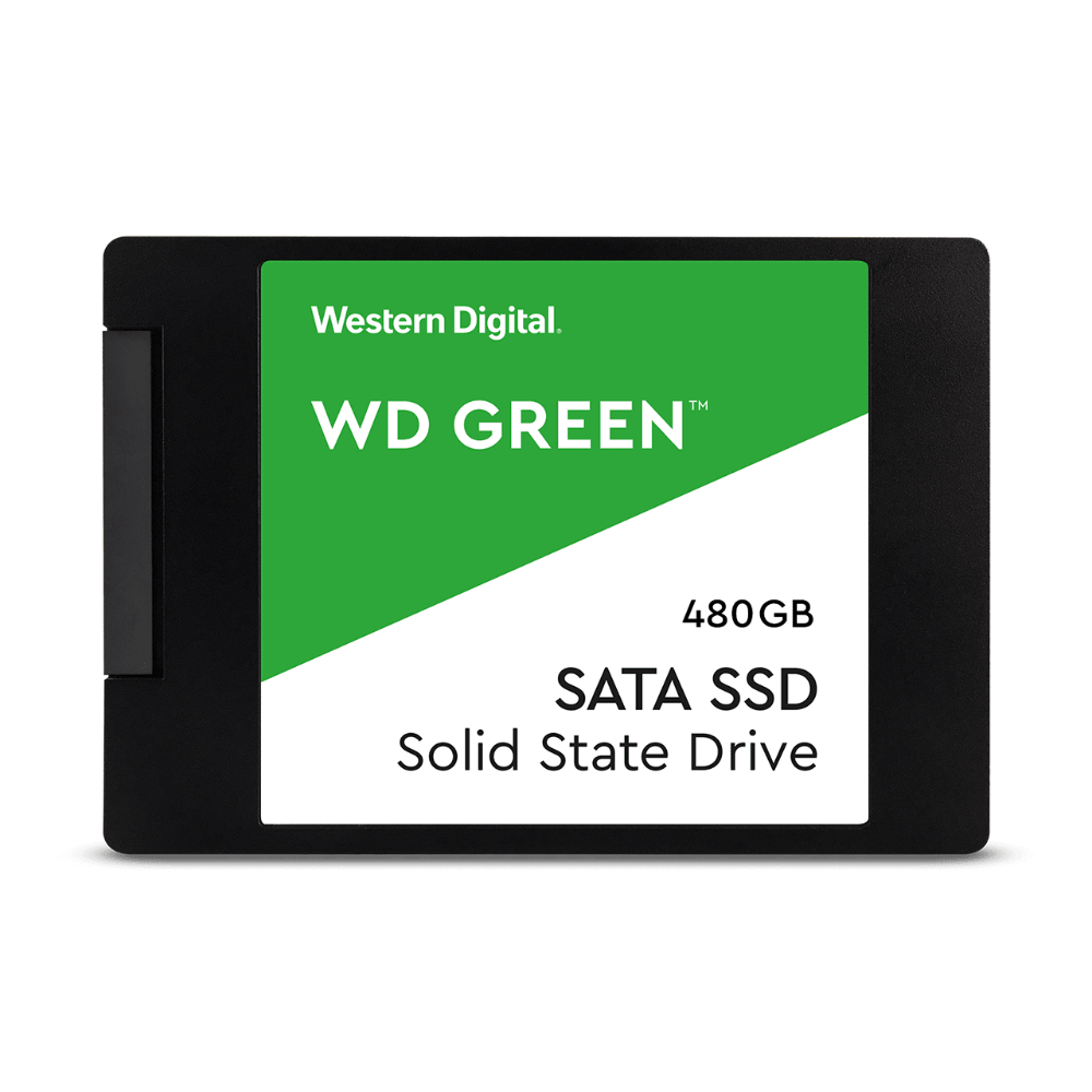 "WD 480GB Green SATA III 2.5"" Internal SSD"