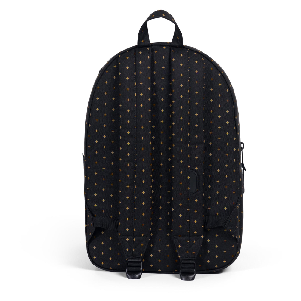Herschel Settlement Backpack Black Gridlock Gold