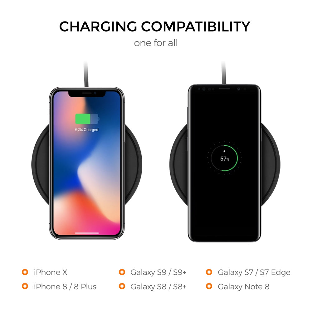 Freedy Wireless Charging Expansion Charging Pad with Standing Cradle 10W Expansion Pack
