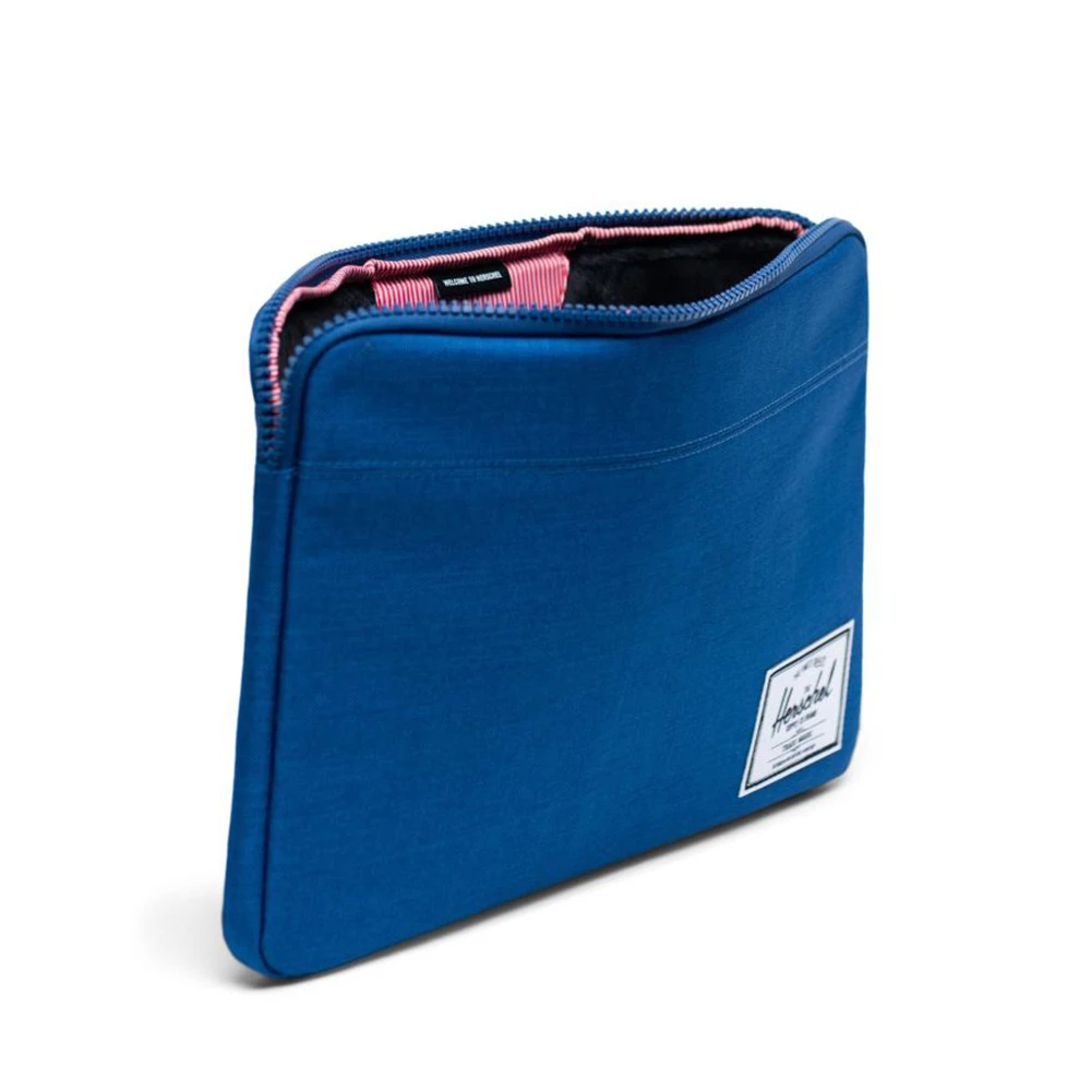 Herschel Anchor Sleeve 13-Inch Monaco Blue Crosshatch