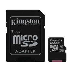 Kingston microSDXC Class 10 UHS-I Card 128GB