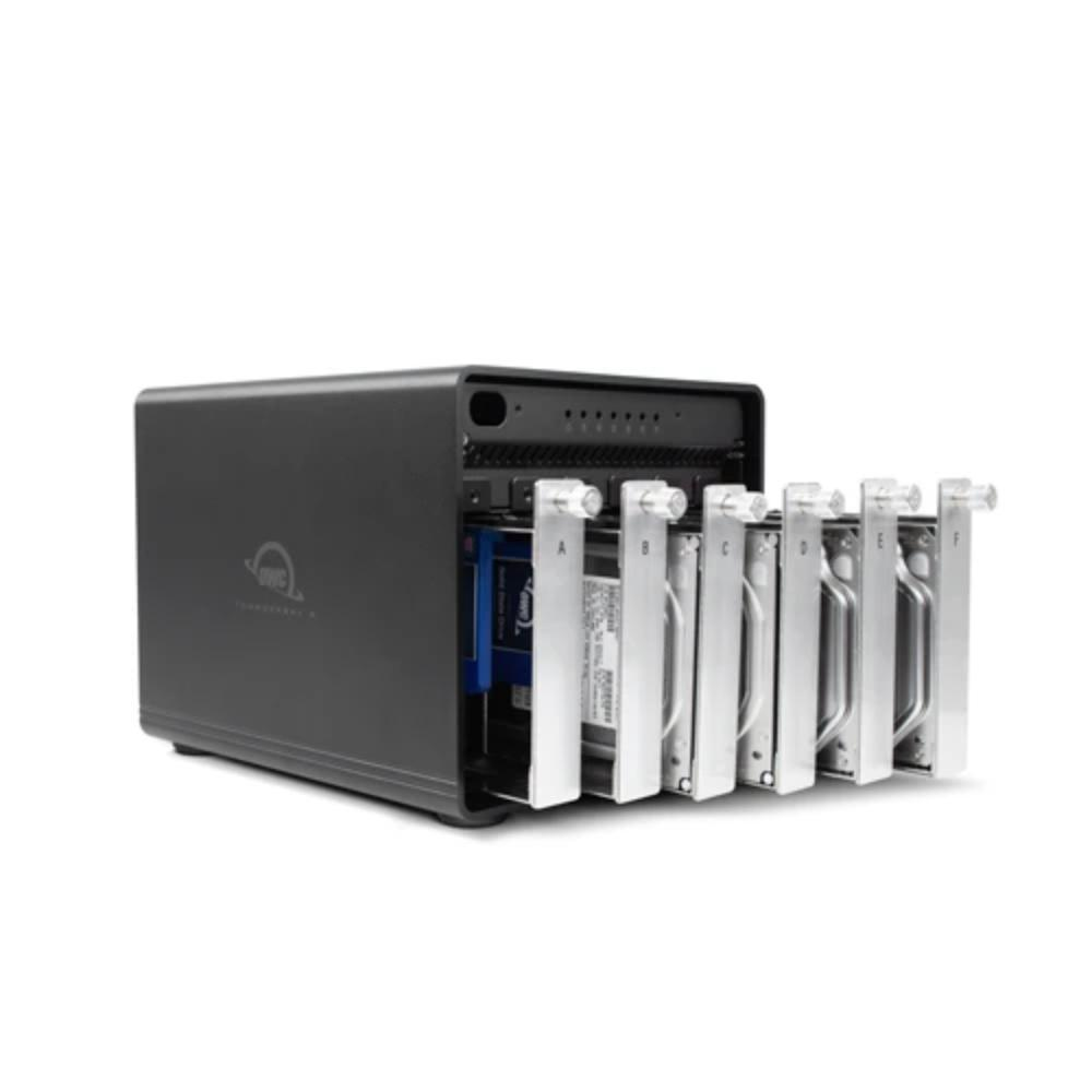OWC ThunderBay 6 RAID- 6-Bay External Storage Enclosure with Dual Thunderbolt 3 Ports
