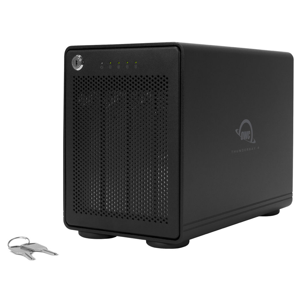 OWC ThunderBay 4-Bay Storage Enclosure with Dual Thunderbolt 3 Ports