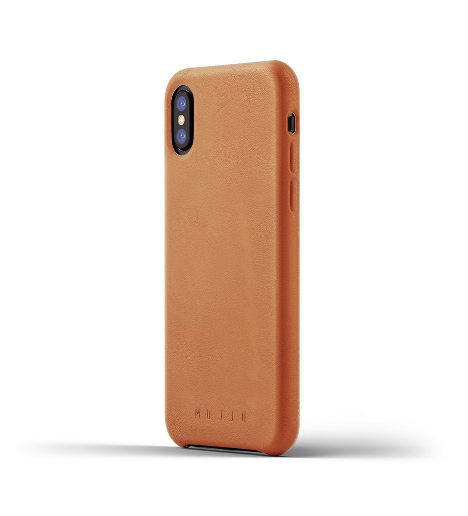 Mujjo Full Leather iPhone Case