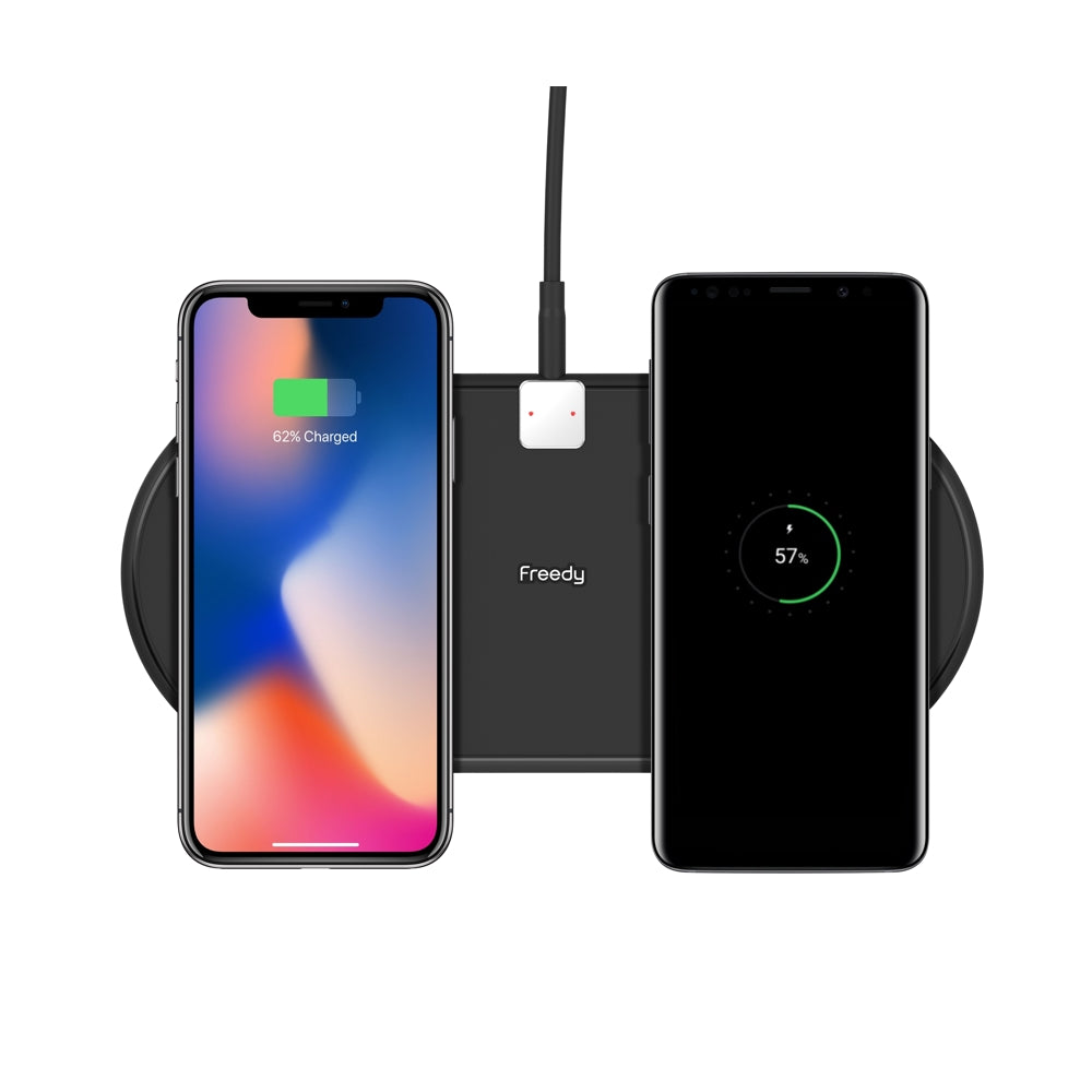 Freedy Flex Dual Wireless Charging Pad