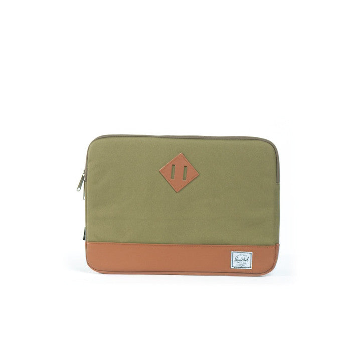 Herschel Heritage Computer Sleeve Army for MacBook