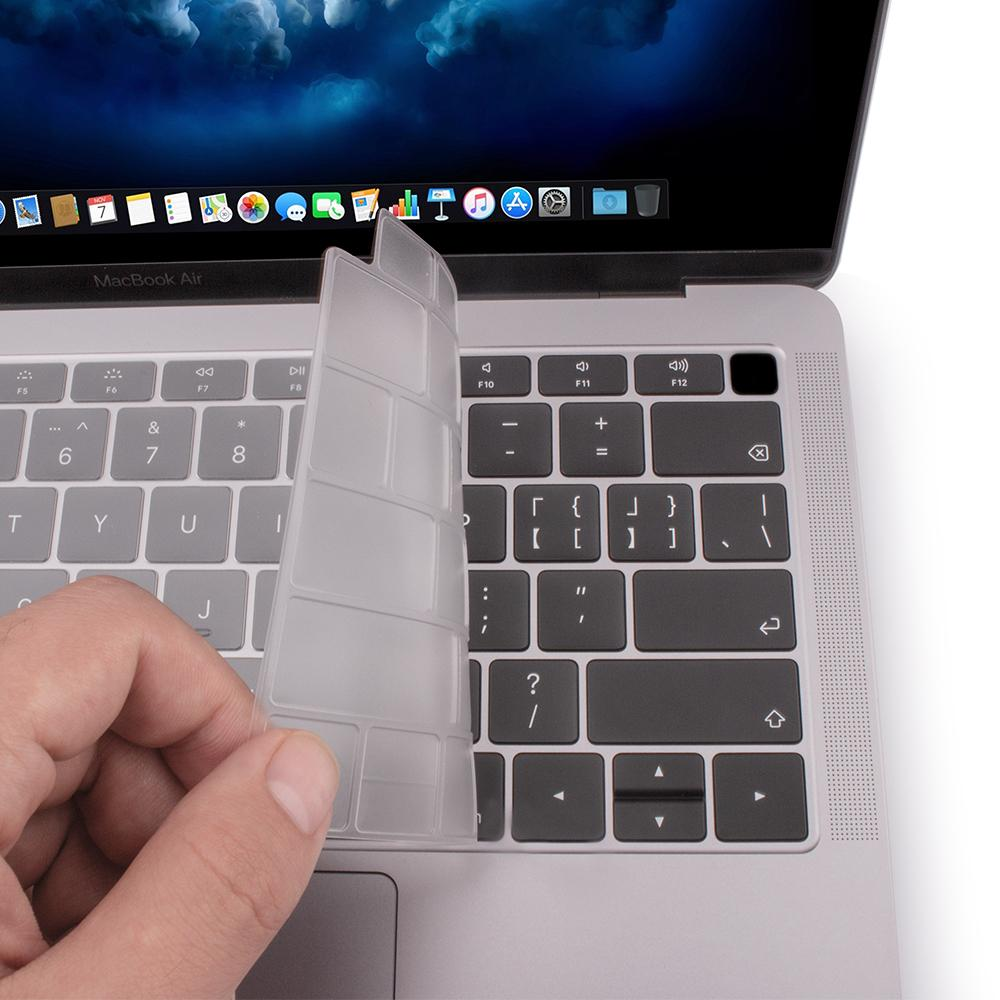 JCPal FitSkin Ultra Clear Keyboard Protector for MacBook Air with Retina Display