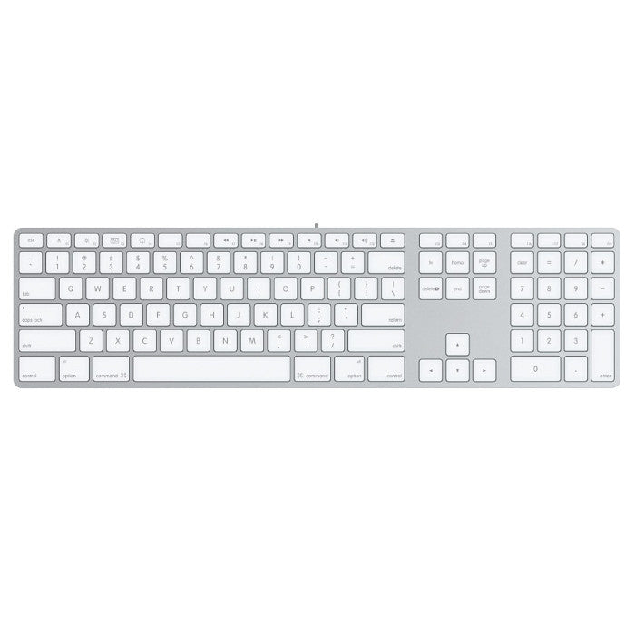 The Apple Keyboard with Numeric Keypad