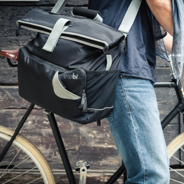 Tucano Tubi Messenger Bag - Black