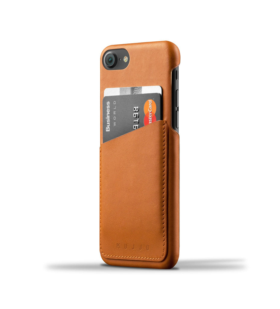 Mujjo Full Leather Wallet iPhone Case