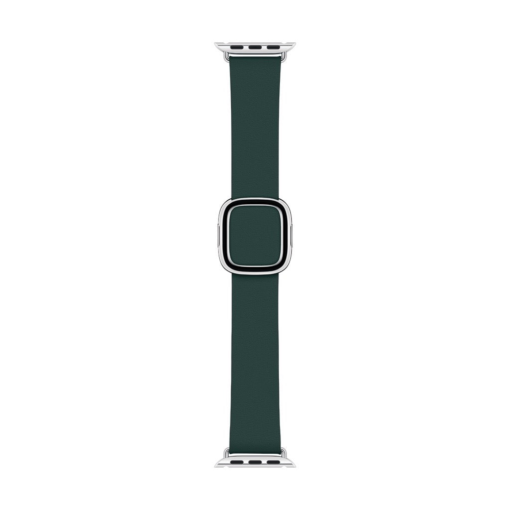Apple Watch Forest Green Modern Buckle Band