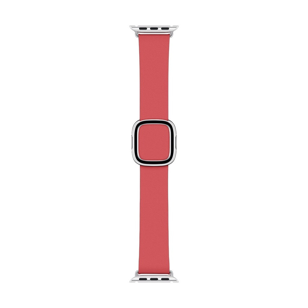 Apple Watch Peony Pink Modern Buckle Band