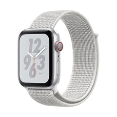 Apple Watch Nike+ Series 4 Silver Aluminum Case with Summit White Nike Sport Loop
