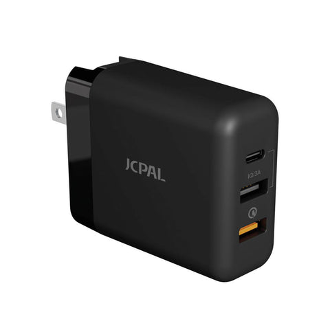 JCPal Multiport Travel Charger