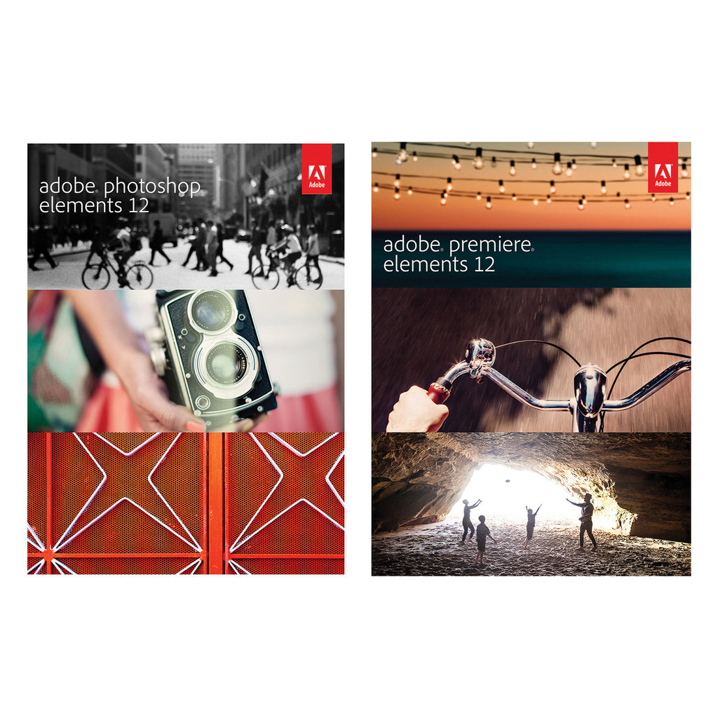 Adobe Photoshop Elements 12 & Premiere Elements 12 Bundle