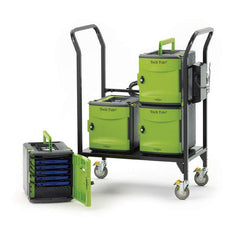 Tech Tub2 Modular Cart: Holds 24 Devices