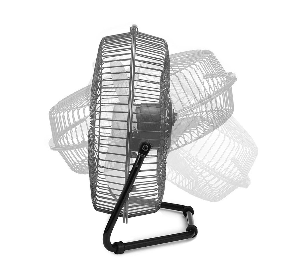 Logiix Retro Air USB Desk Fan