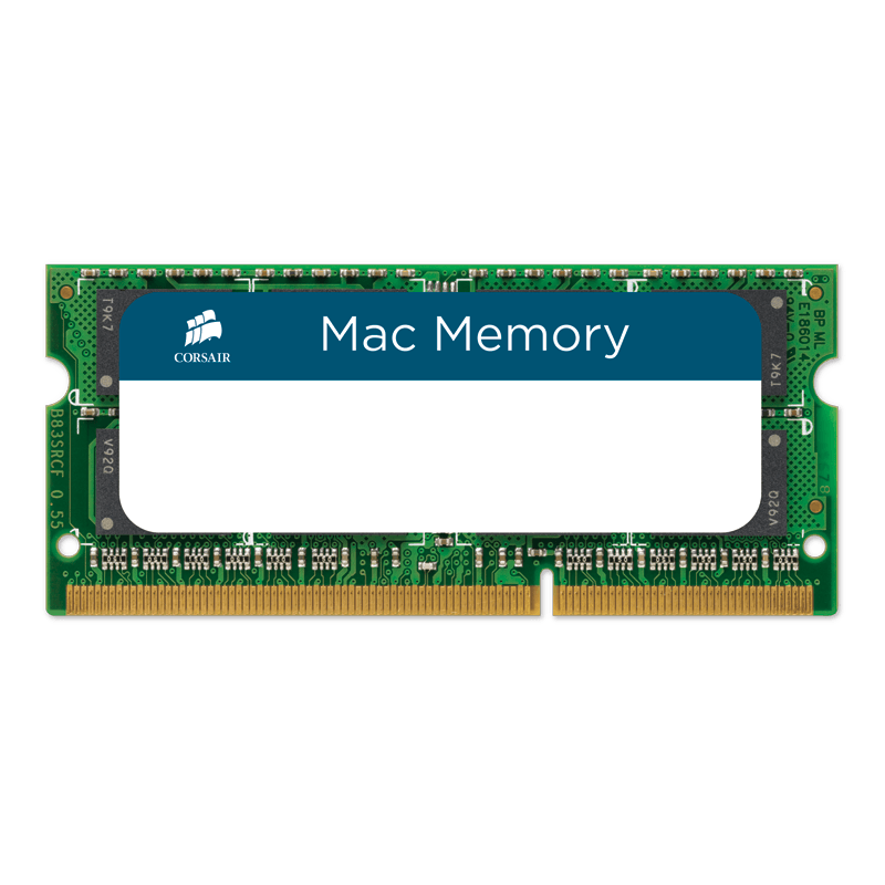 Corsair 2x4GB DDR3-1066 SODIMM RAM for MacBook Pro, iMac, & Mac mini