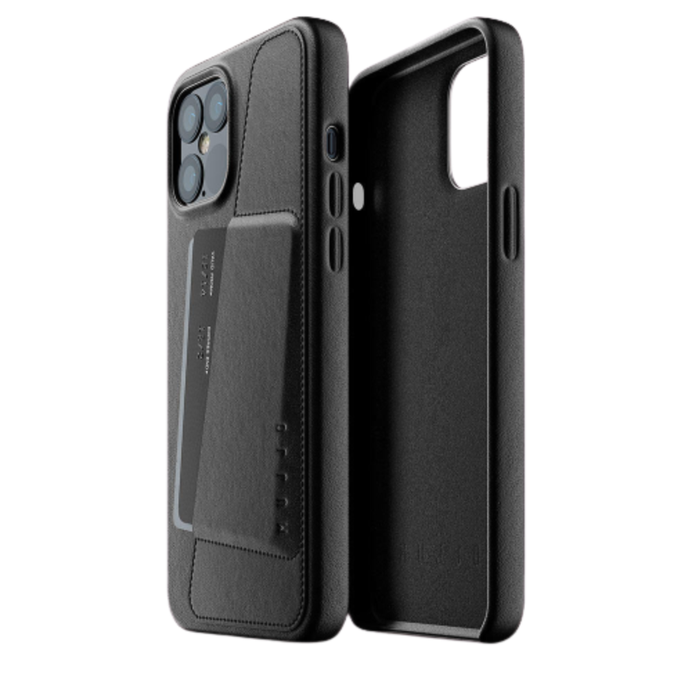 Mujjo Full Leather Wallet Case for iPhone 12 Pro Max
