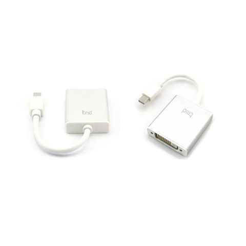 tmd Mini DisplayPort to DVI Adaptor