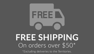 FREE SHIPPING! On all orders over $50