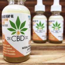 Load image into Gallery viewer, Hemp CBD Glycerin Tincture