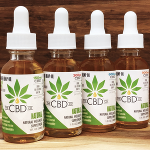 The CBD Company Full Spectrum Organic Hemp CBD Oil MCT Oil Tincture