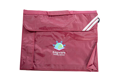 Edgware Primary School Bookbag Maroon Year 1+
