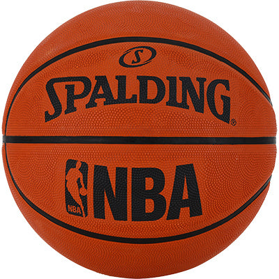 Orange Spalding Basketball