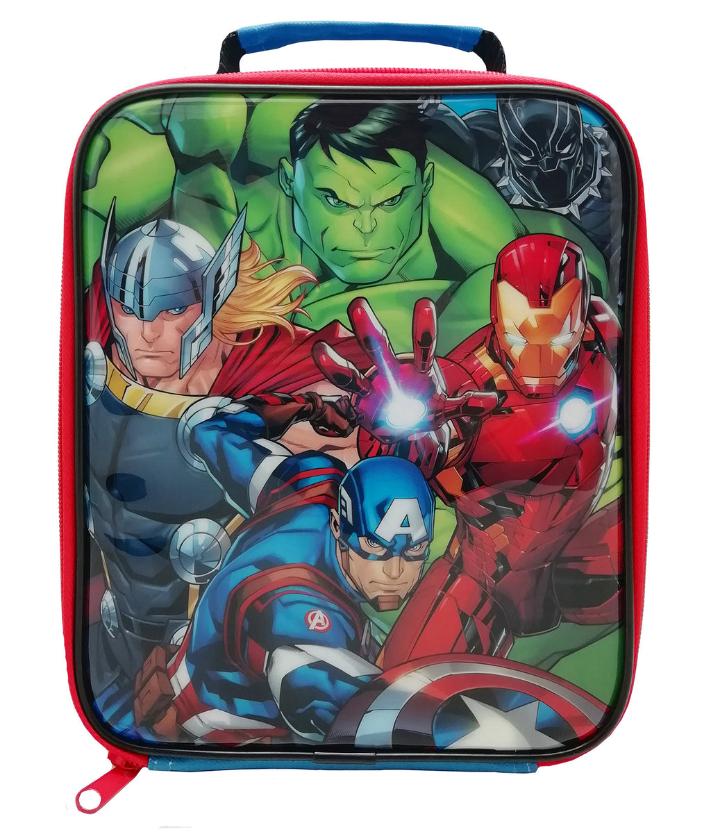 Marvel Avengers Classic Lunch Bag and Bottle