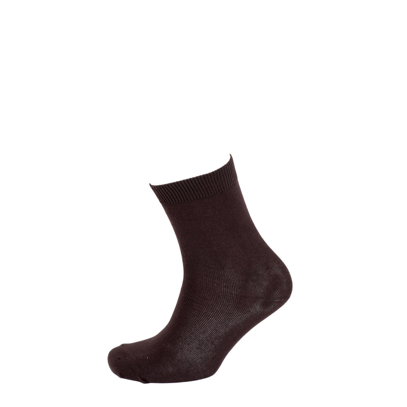 Black 5 pair pack school socks