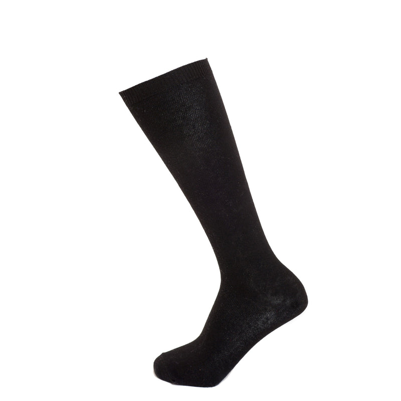 Black Triple Pack Knee Length Socks