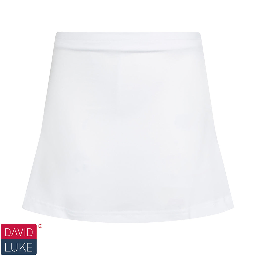 White Technical Skort