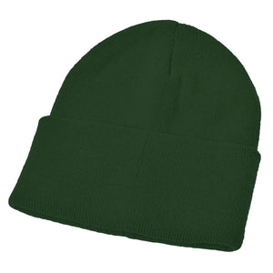 Bottle Green Acrylic Ski Hat