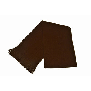Brown Acrylic Scarf