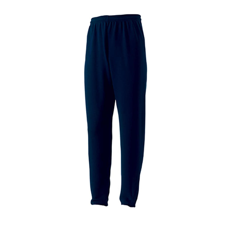 Plain Navy Jerzees Jog Bottoms