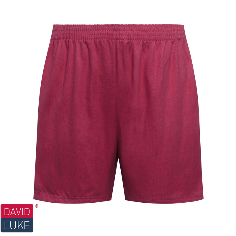 Maroon Sports Shorts