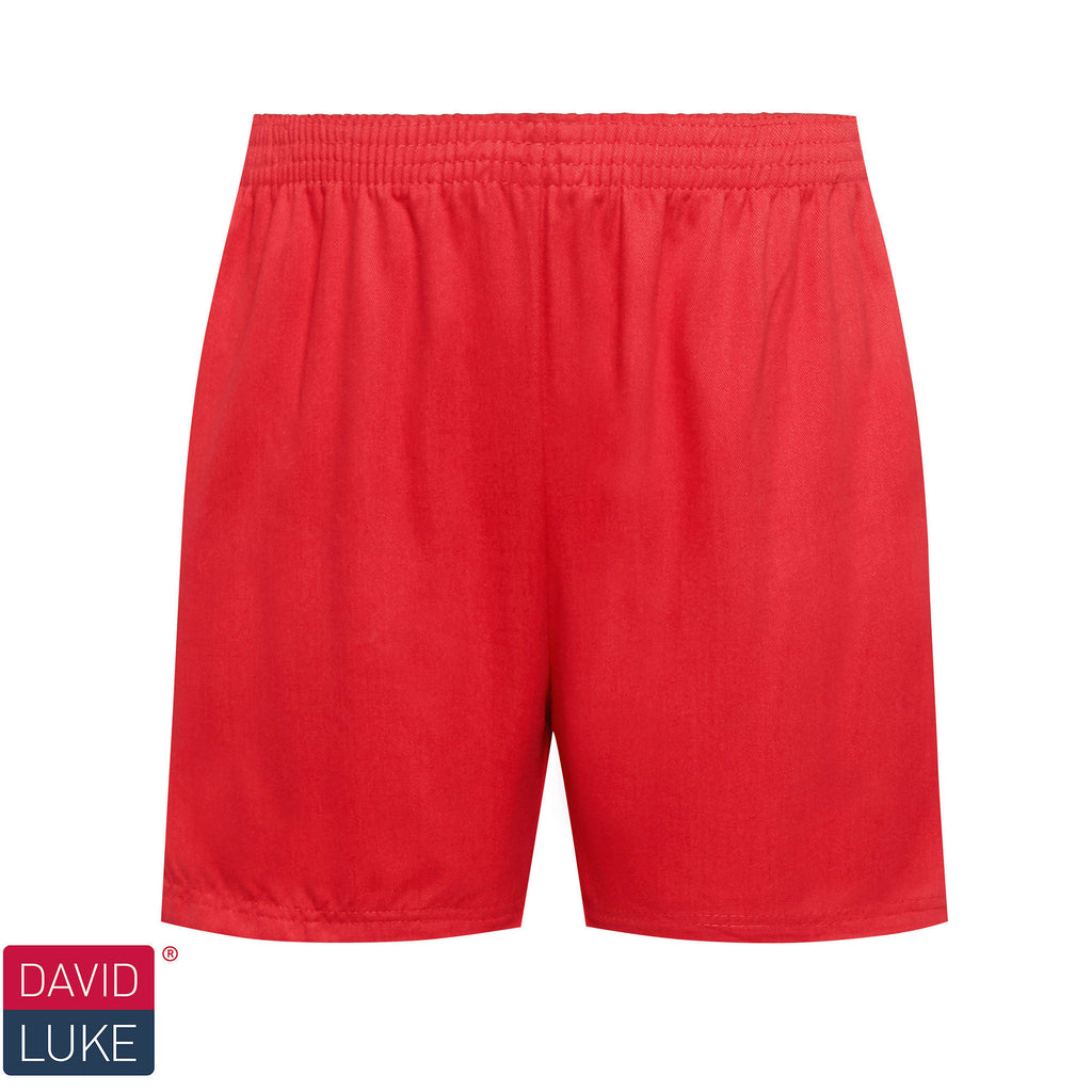 Red Sports Shorts
