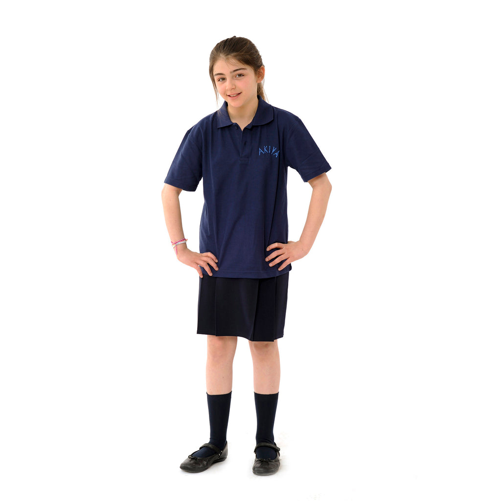 Akiva Navy Polo Shirt