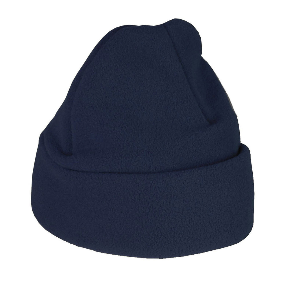 Navy Fleece Ski Hat Standard