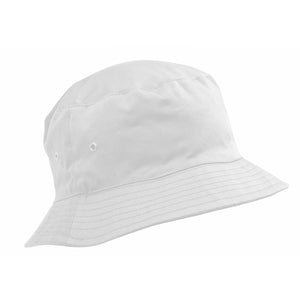 PLAIN WHITE SUN HAT