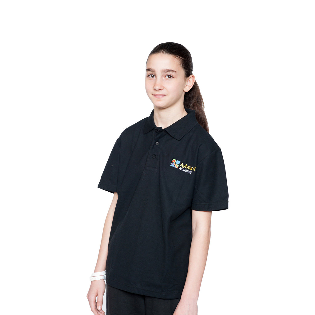 Aylward Academy Black Polo Shirt