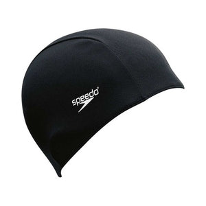 Black Speedo Polyester Caps
