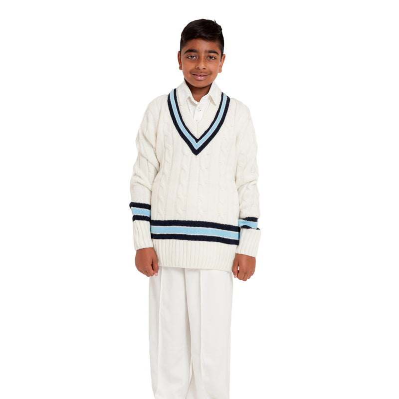 Belmont Cricket Vneck sweater