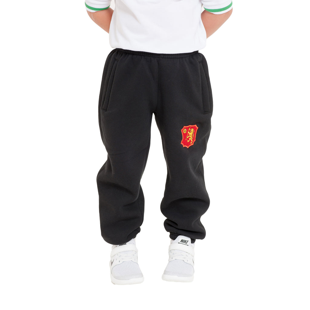 Buckingham Preparatory School Black Jog Bottoms