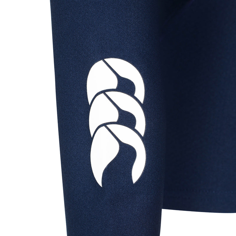Navy Cold Long Sleeve Top