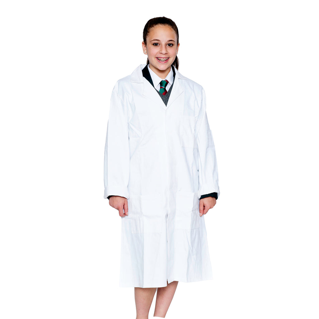 Heavyweight White Lab Coat