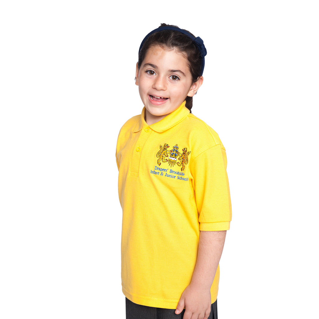 Drapers' Brookside Junior School Polo Shirt