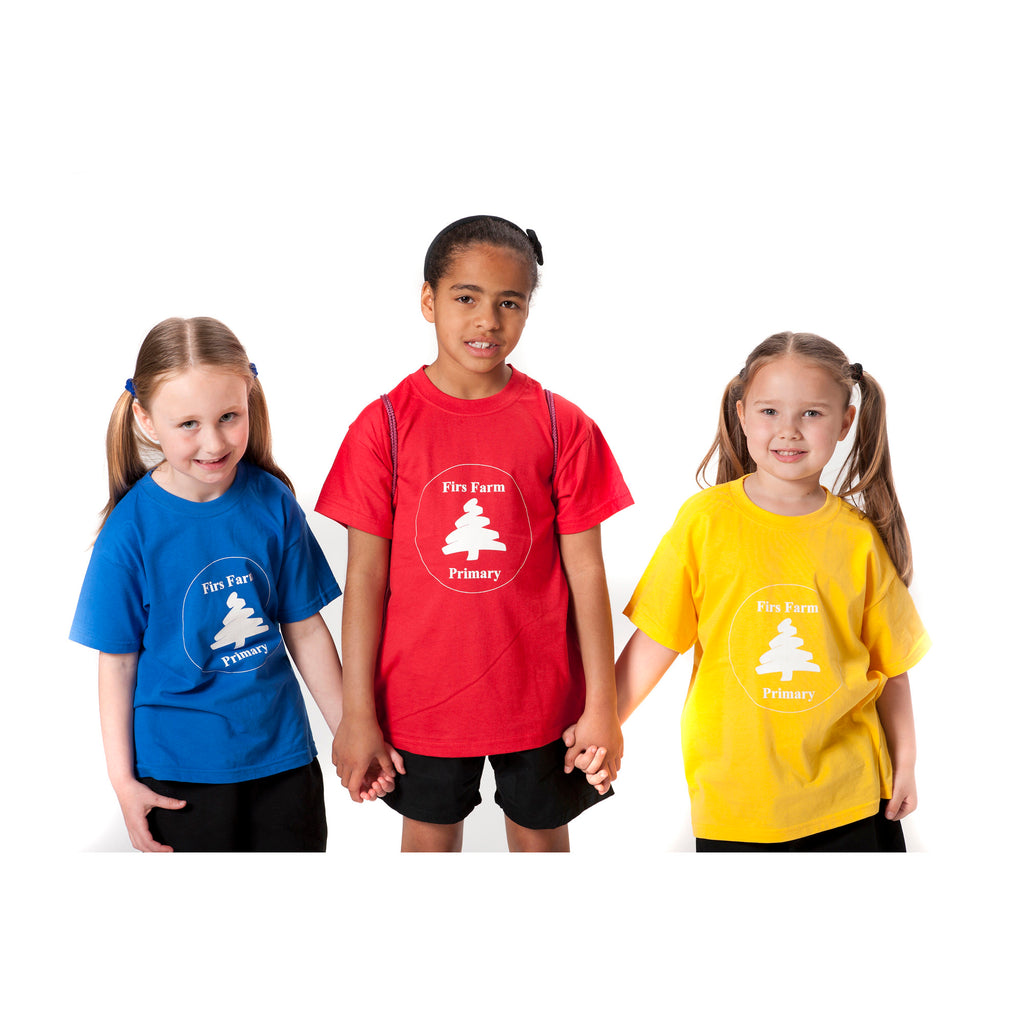 Firs Farm Primary School House Tshirts