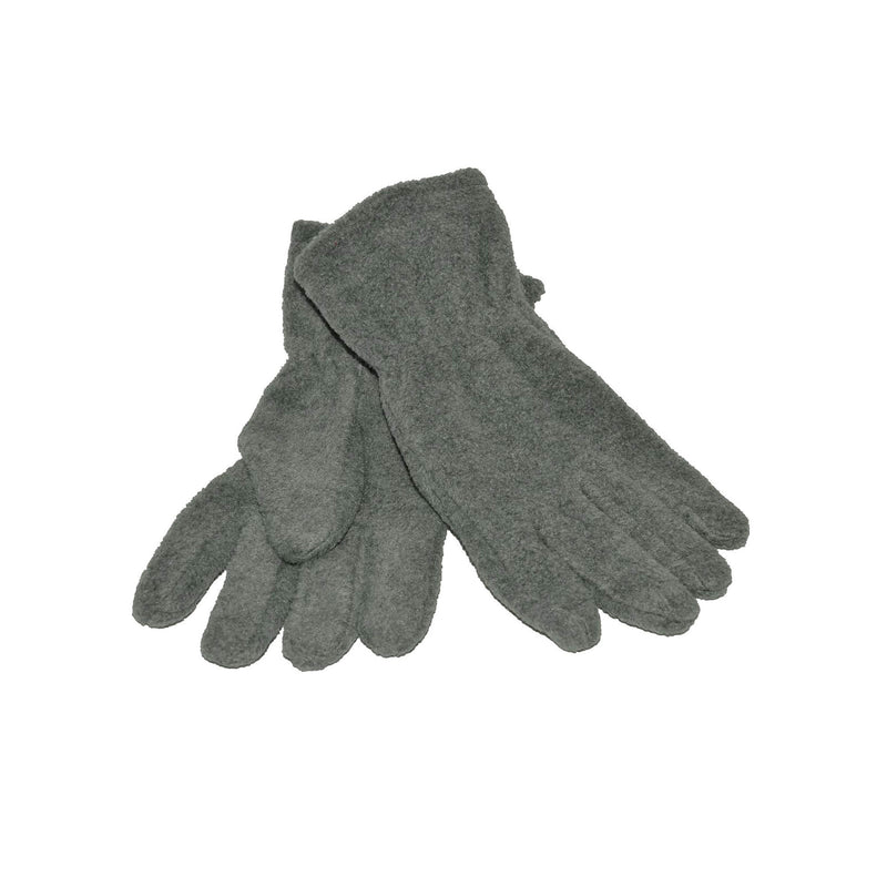 Grey Fleece Gloves